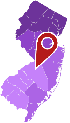 A Map of all the Outlets&Malls in New Jersey
